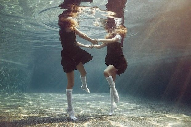 Underwater Photography: Happy Children Found at the Bottom of Your Swimming Pool...