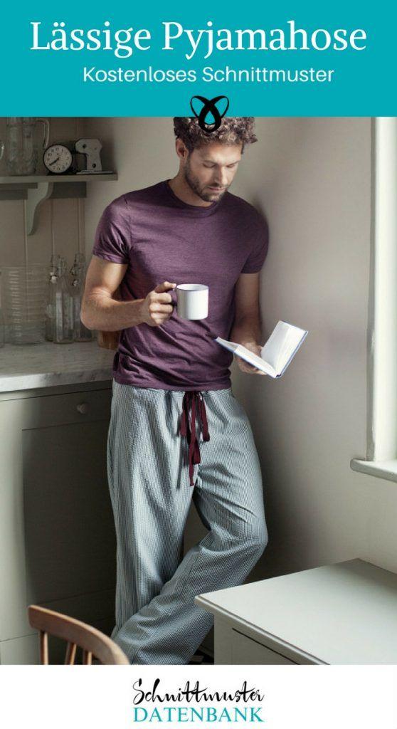 Pajama Bottoms Unisex Sewing Free Sewing Pattern Free Sewing Sewing ...