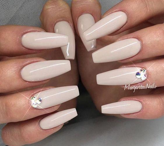 55 Acryl Coffin Nails Designs Ideen #gel #fall #pink #matte #awimina #marble ...