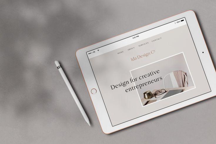 Ida - iPad Mockup Scene Creator by Moyo Studio on Creative Market #creativemarke...
