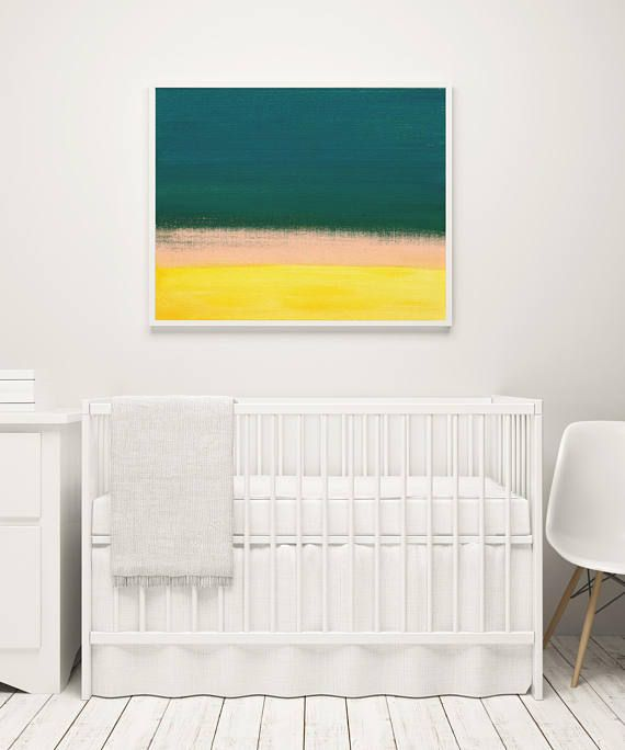 Abstract Landscape Print Sunset Printable Art Print Abstract...