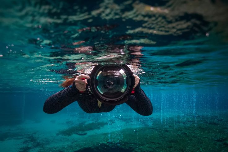 Freediving in the Gorgeous Blue Waters of Ginnie Springs - My Underwater Photogr...