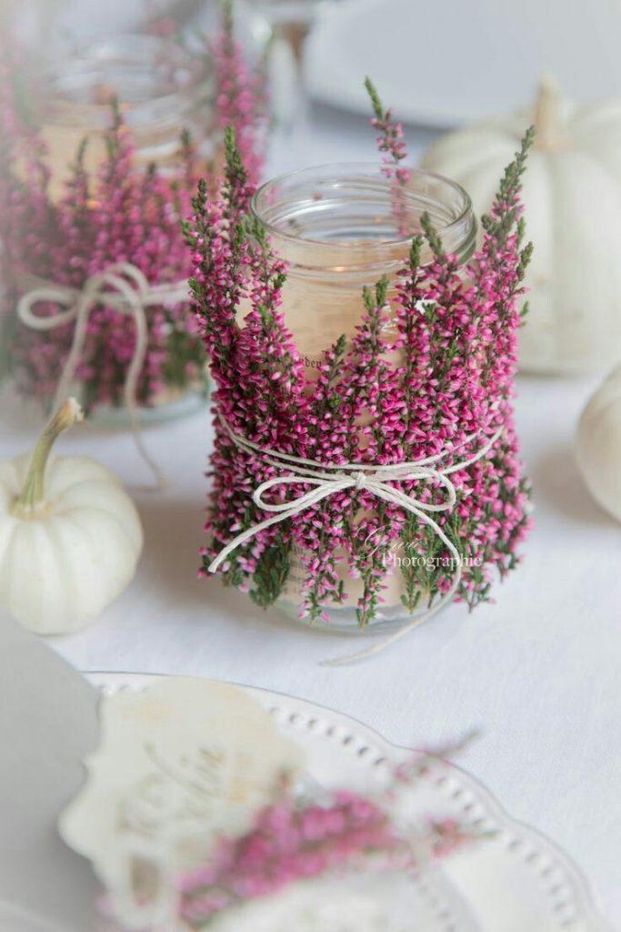 table decoration table decoration chalkboard wedding celebration feast deco DIY floral flower decoration ...