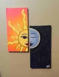 Image result for simple acrylic painting ideas for beginners on canvas #canva ...