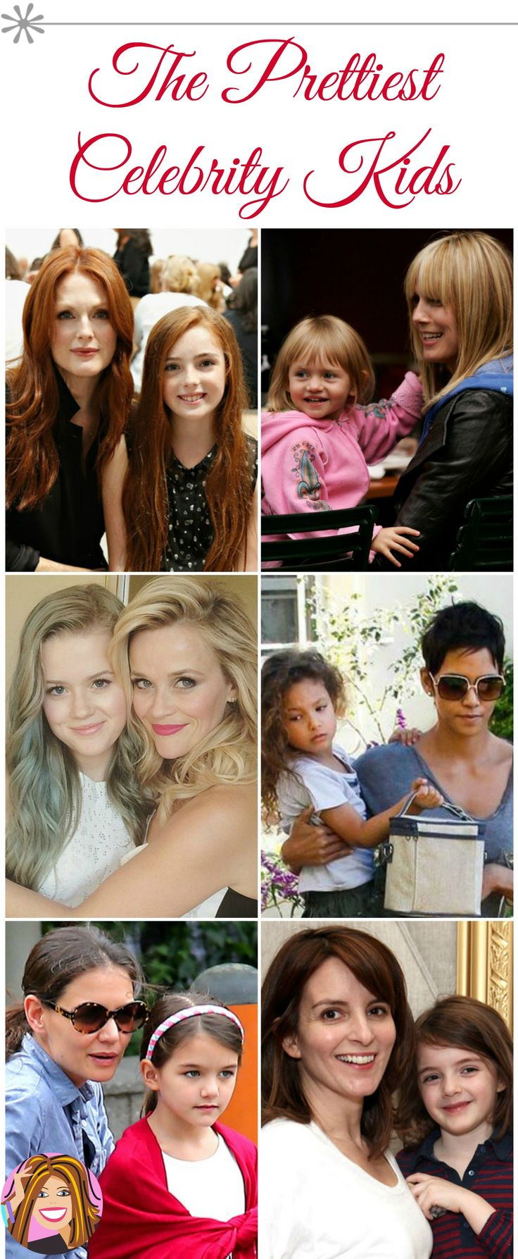 Celebrity kids definitely take after their gorgeous parents....