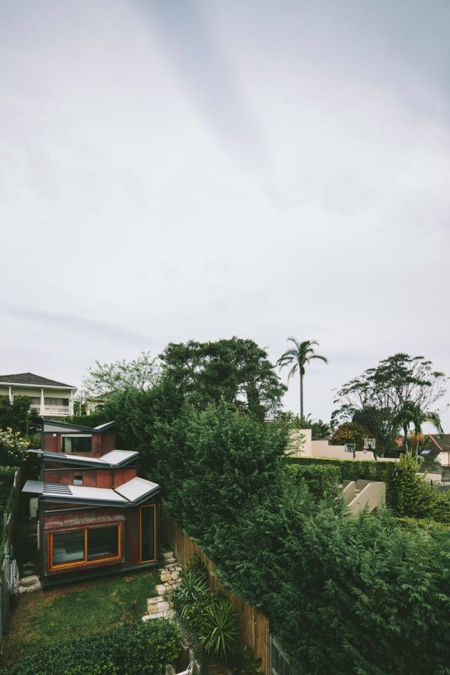 A lovely little copper house in Coogee   Designhunter – Sustainable Architectu...