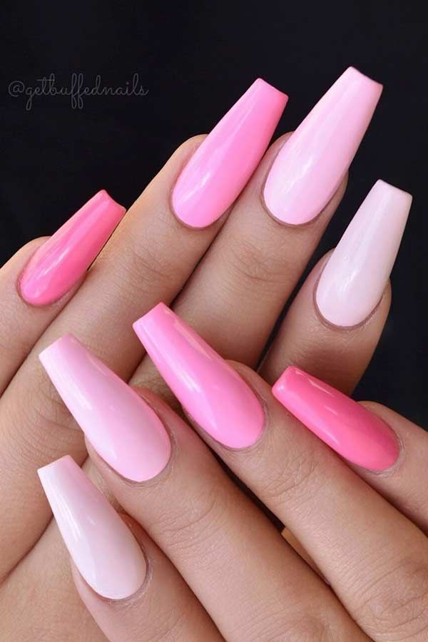23 Light Pink Nail Designs and Ideas to Try # Try #hellrosa #id ...