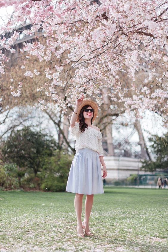 Spring Look: 20 best combinations of fashionable pastel clothing - #best ...