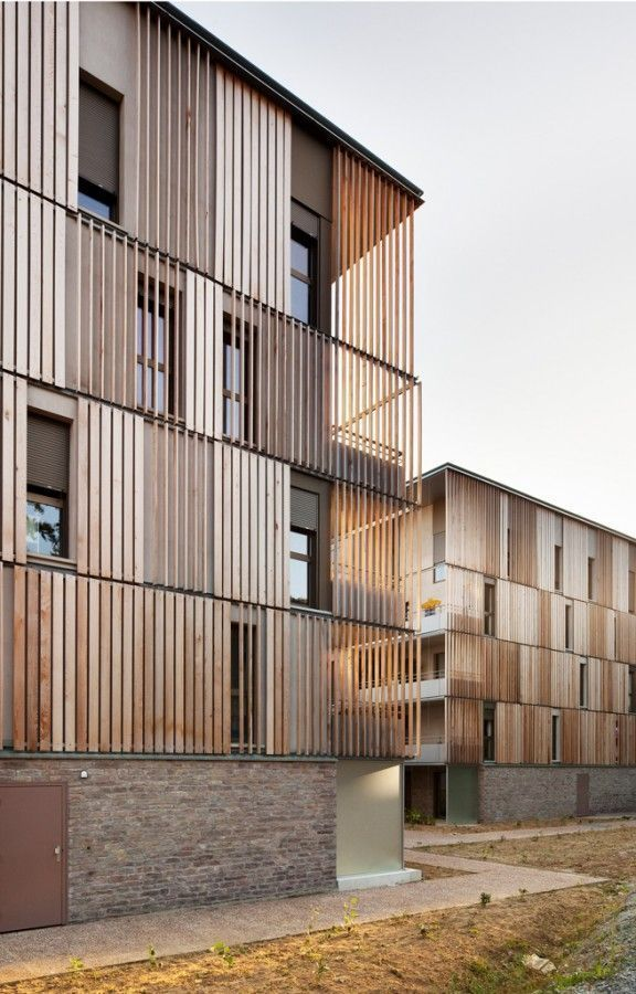 The Lucien Rose Complex impresses with its unique use of wood. V ...