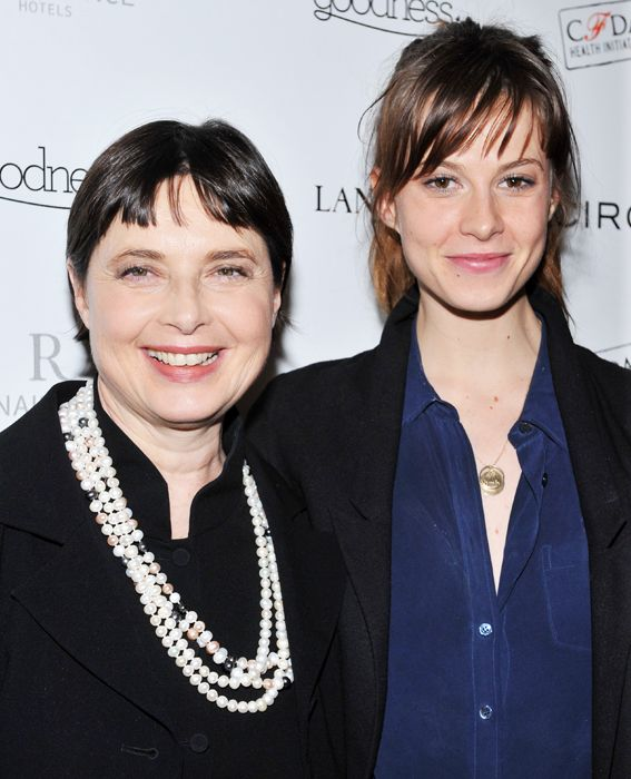 Famous Families: Like Mother, Like Daughter - Isabella Rossellini & Elettra from...