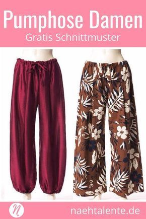 Free sewing pattern for a bloomers or harem pants for women - sew on ...