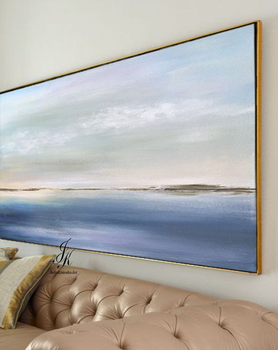 Abstract acrylic painting Abstract landscape painting THIS PAINTING IS SALE ...