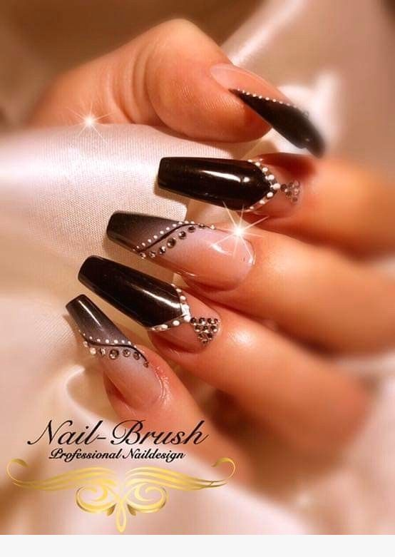 50 Fabulous Coffin Nail Designs for Women - Page 36 of 50 #designs #fabulous ...
