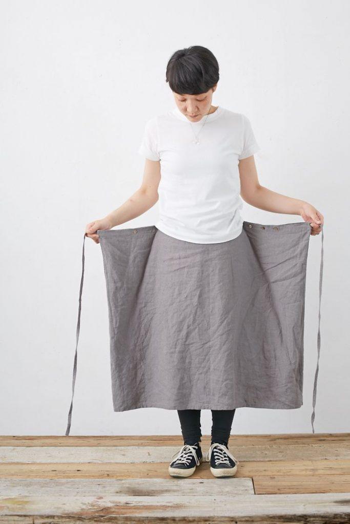 Maxi skirt tutorial, pattern drape, apron dress, clothing craft, sewing ve ...