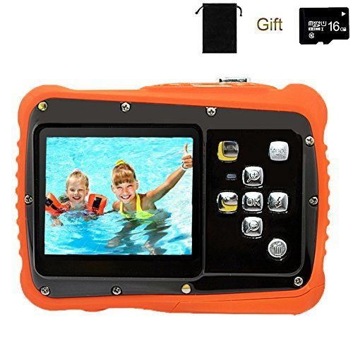 Discounted YTAT Digital Camera for Kids, Waterproof Kids Digital Camera, Underwa...