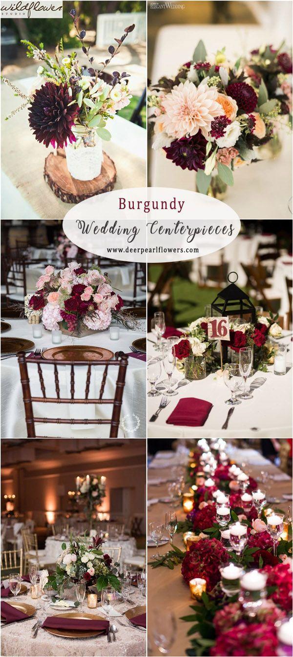 40 burgundy wedding ideas for autumn and winter weddings #burgunder #herbs ...