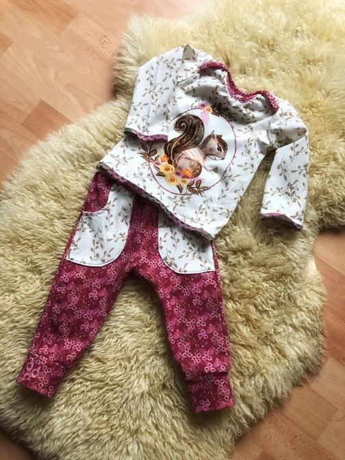free sewing pattern & sewing instructions: baby pants with decorative pockets 50-5 ...