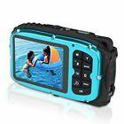 GordVE 2.7 Inch LCD Cameras 16MP Digital Camera Underwater 10m Waterproof 4444...
