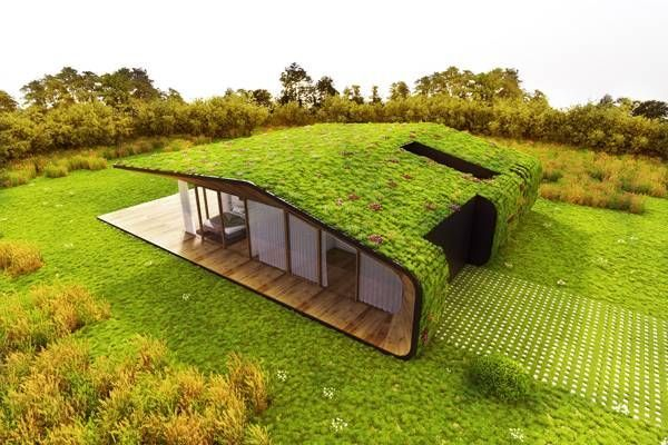 20 fantastic houses with grass roof designs #designs #fantastic # grass roof #h ...