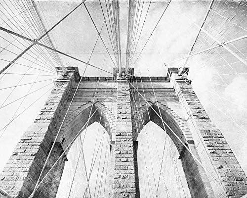Brooklyn Bridge New York City Photography 8x10 inch print