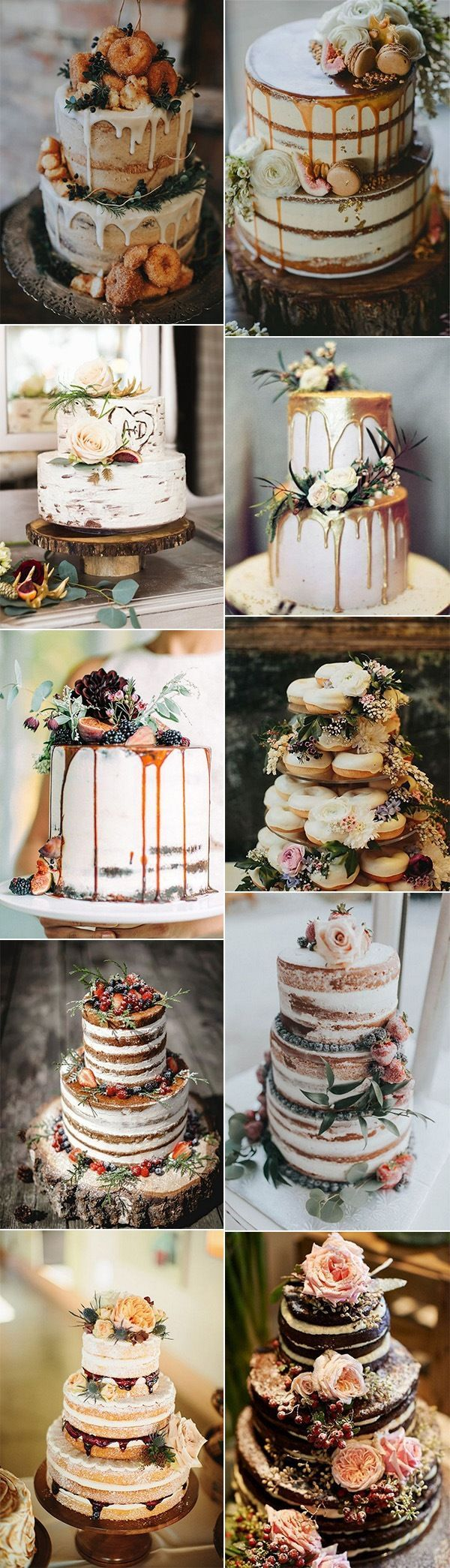 20 Delicious Fall Wedding Cakes that WOW...