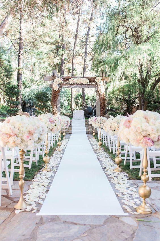 Outdoor weddings: breathtaking inspirations for an outdoor wedding ...
