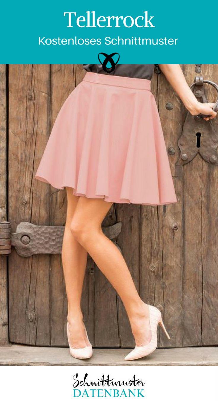 Circle skirt skirt clothing for women vintage clothing free sewing pattern ...