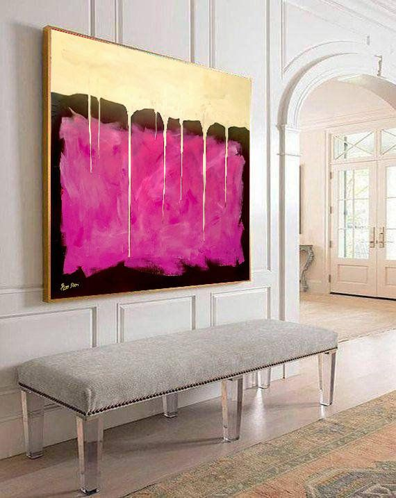 Wall Art, Acrylic Painting, Abstract Painting, Canvas Art, Gift for Her, ...