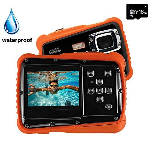 Discounted Digital Camera for Kids, YTAT Waterproof Kids Digital Camera, Underwa...