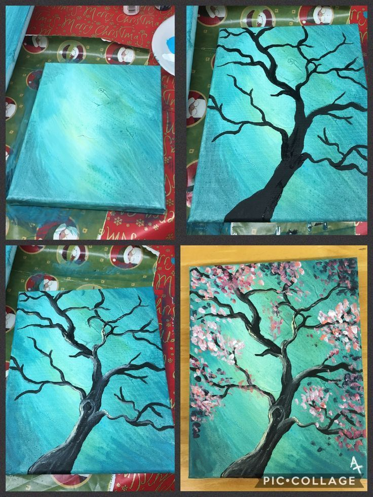 36 Artsy and Easy Canvas Painting Ideas #Artsy #Canvas #Easy #Ideas #Painting...