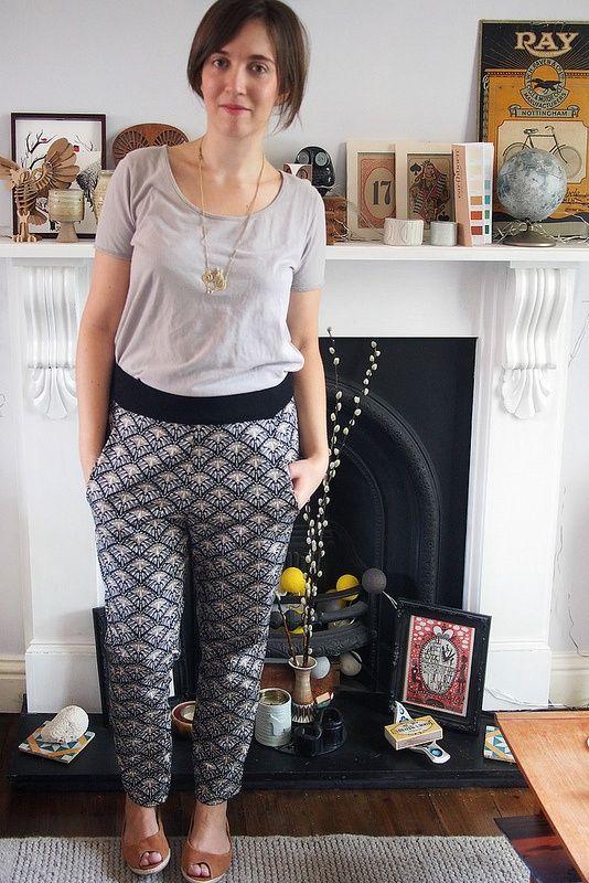 Deco pants by katie   Project   Sewing / Pants & Shorts   Kollabora #diy #kollab...