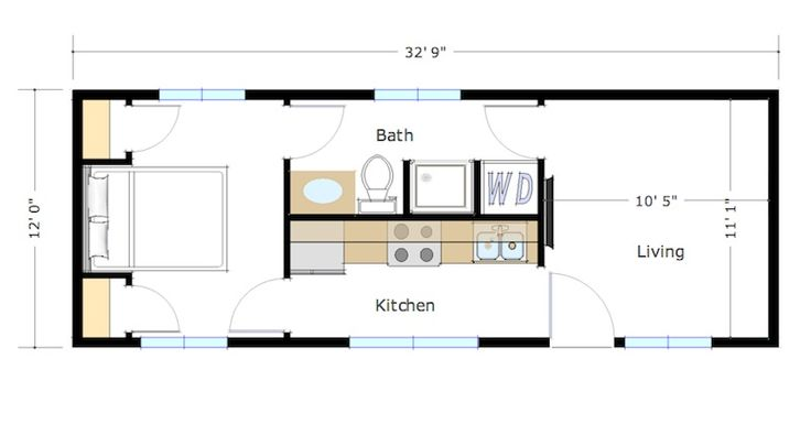 400 Square Foot Skyline by Zip Kit Homes...