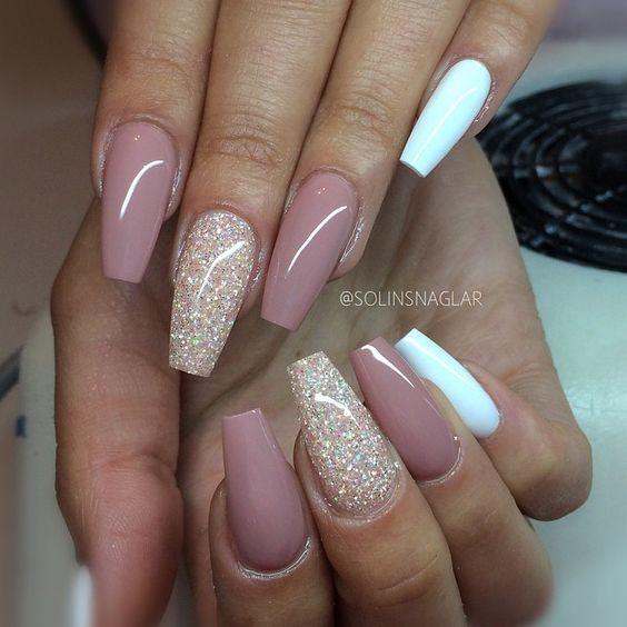 18 Beige nails for your next manicure #beige #manicure #next #nagel ...