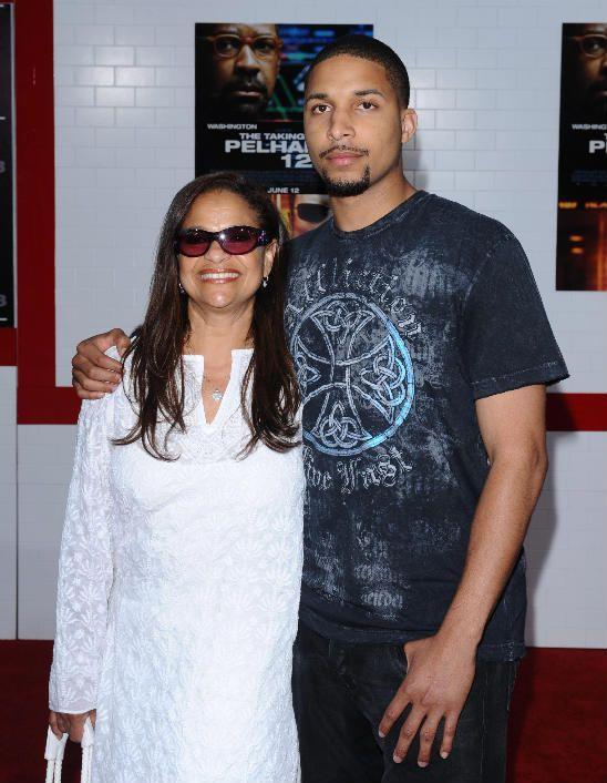 Debbie Allen and son Norm Nixon, Jr....