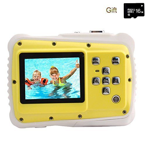 Discounted Kids Digital Camera, YTAT Underwater Digital Action Camera for Kids, ...