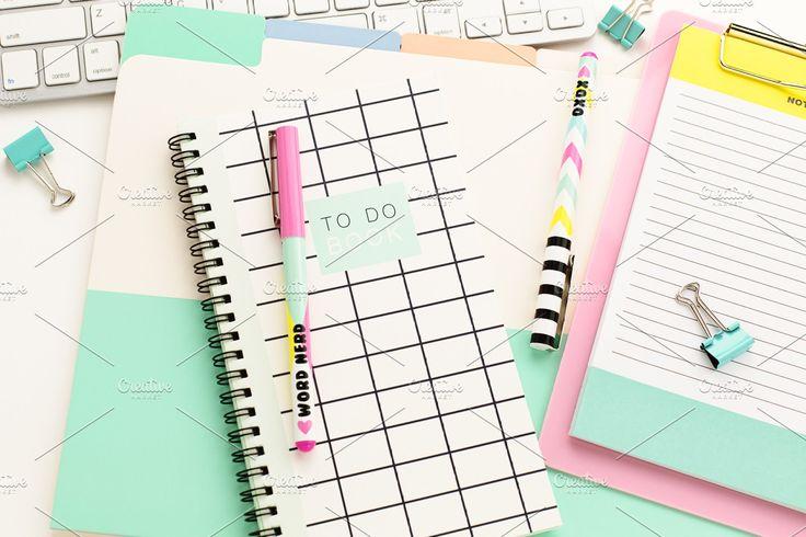 Ad: Bright Desktop - Stock Photo Bundle by Michelle Buchanan Stock on Creative M...